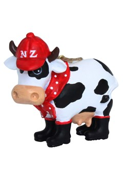 NZ Dairy Cow Tree Ornament 1