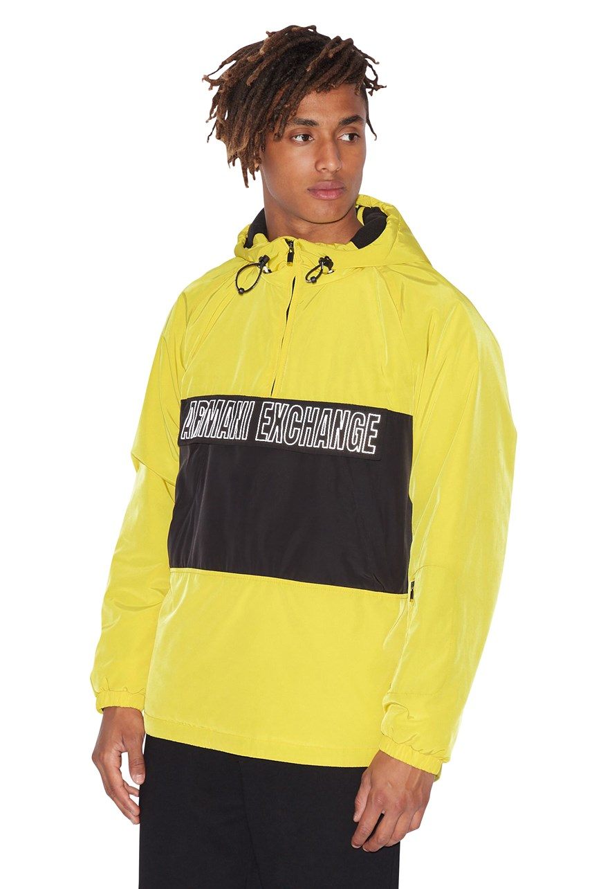 Central Band Hooded Jacket
