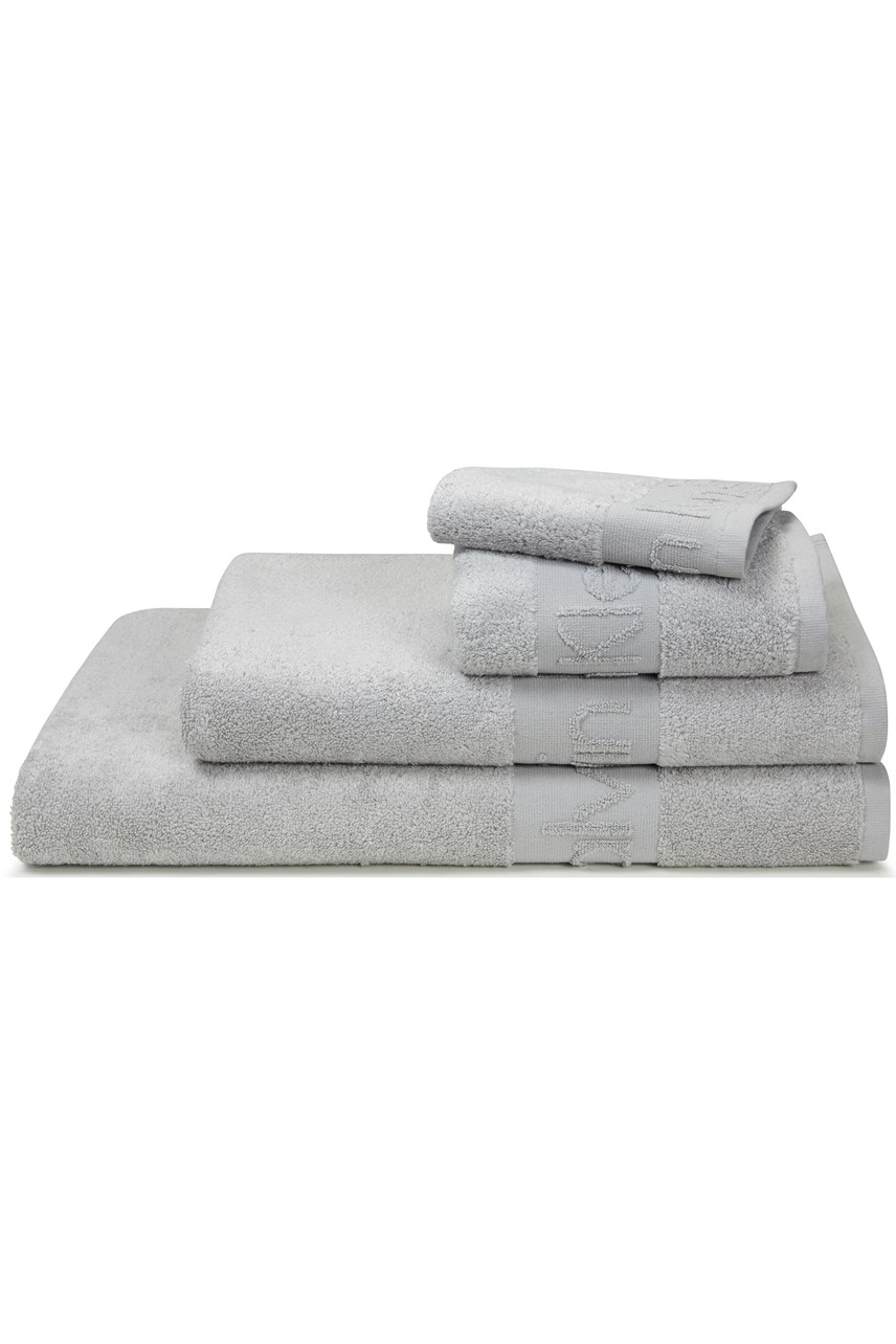 Modern Cotton Towel Collection - Grey