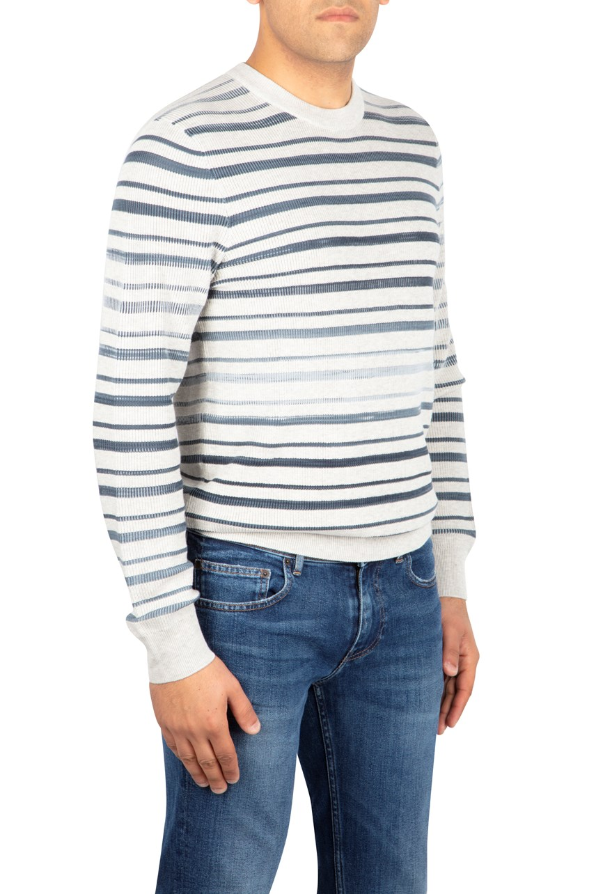 Faded Stripe Sweater