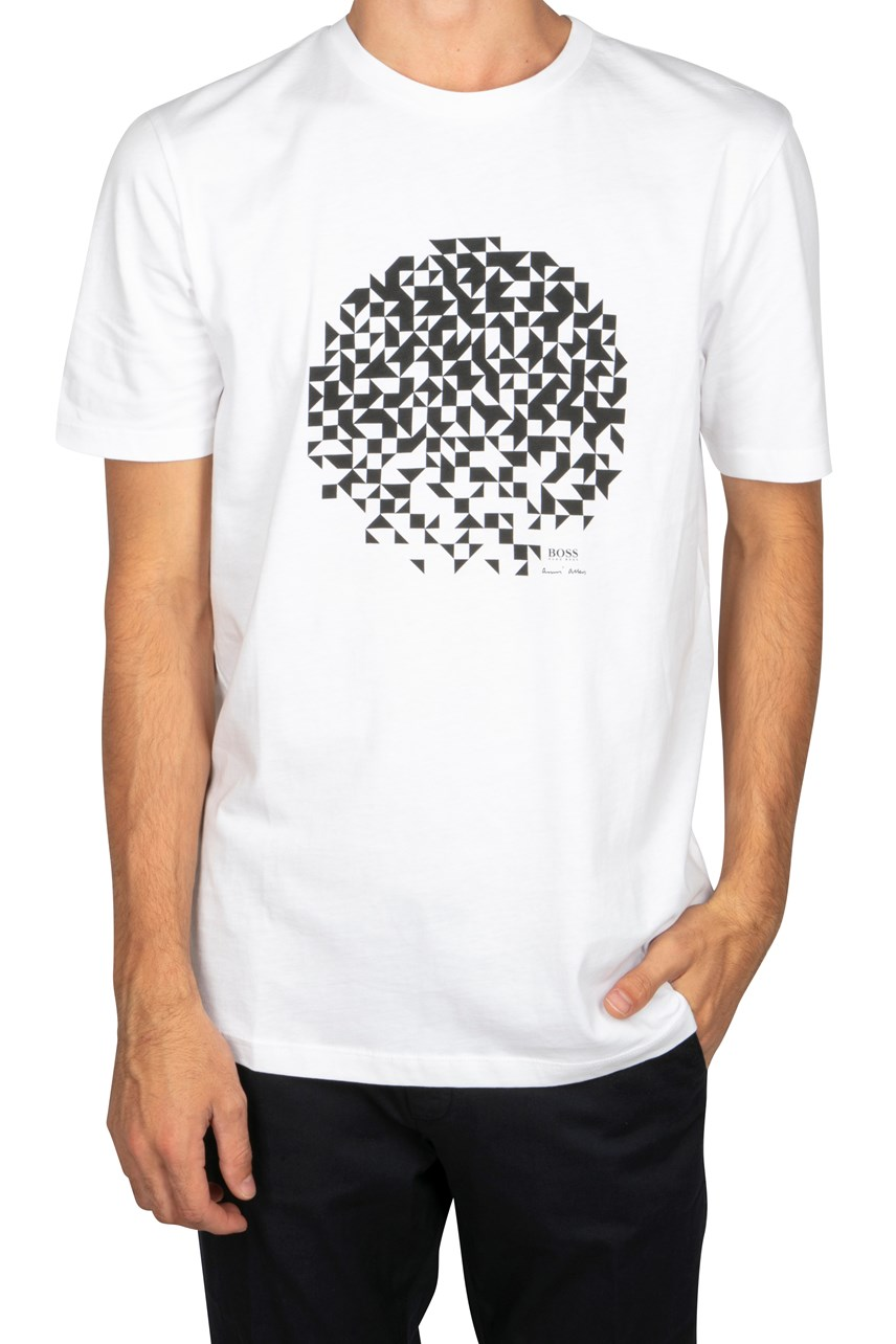 Geometric Circle Graphic Tee