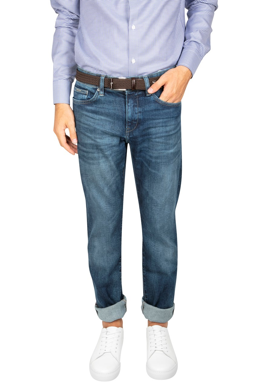Delaware Washed Slim Leg Jean
