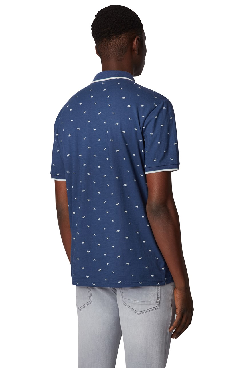 Pejack All-Over Print Polo Shirt