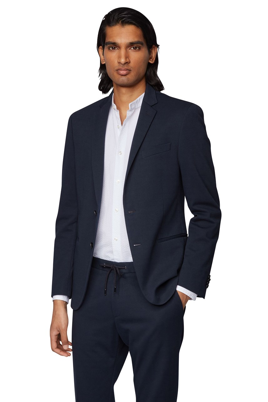 Norwin4 Cotton Blend Slim Fit Jacket