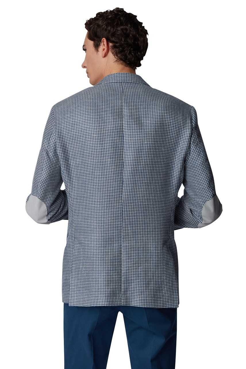 T Hesam2 Slim Fit Patterned Jacket