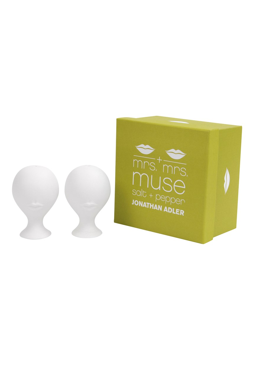Mrs & Mrs Muse Salt & Pepper Set