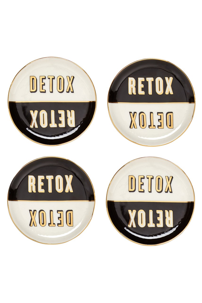 Master Cleanse Coasters - Set of 4