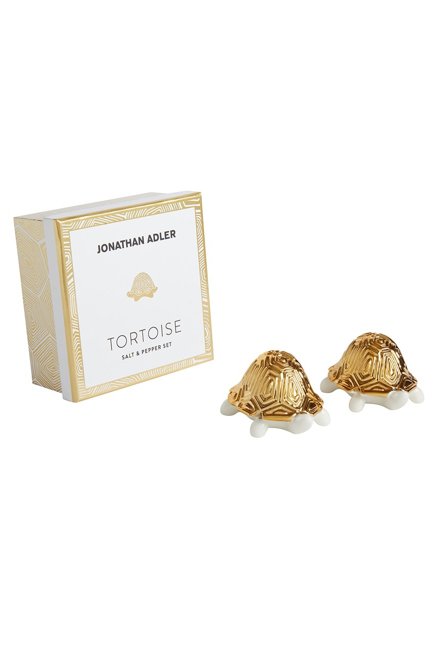 Tortoise Salt & Pepper Set