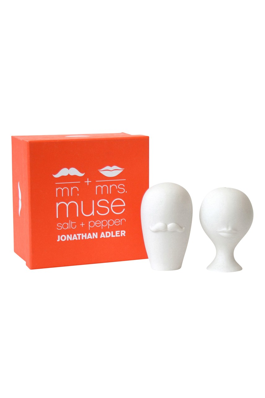 Mr & Mrs Muse Salt & Pepper Set
