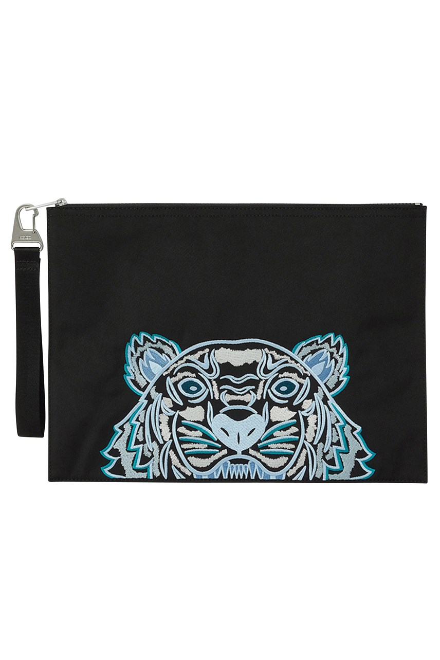 Canvas Kampus Tiger Pouch
