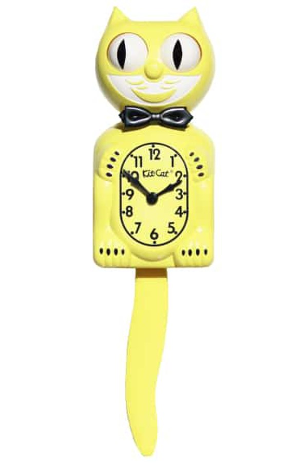 Majestic Yellow Limited Edition Clock