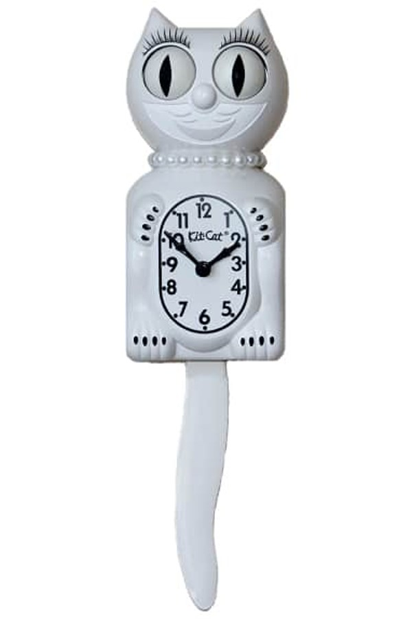 White Lady Limited Edition Clock