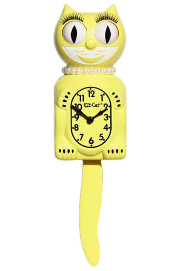 Majestic Yellow Lady Limited Edition Clock