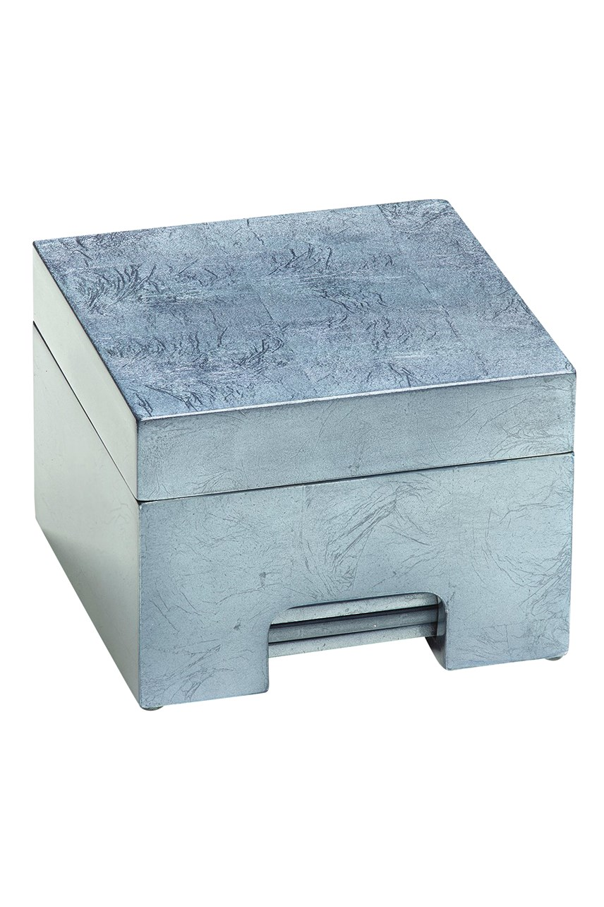 Silver Leaf Coastbox - Silver
