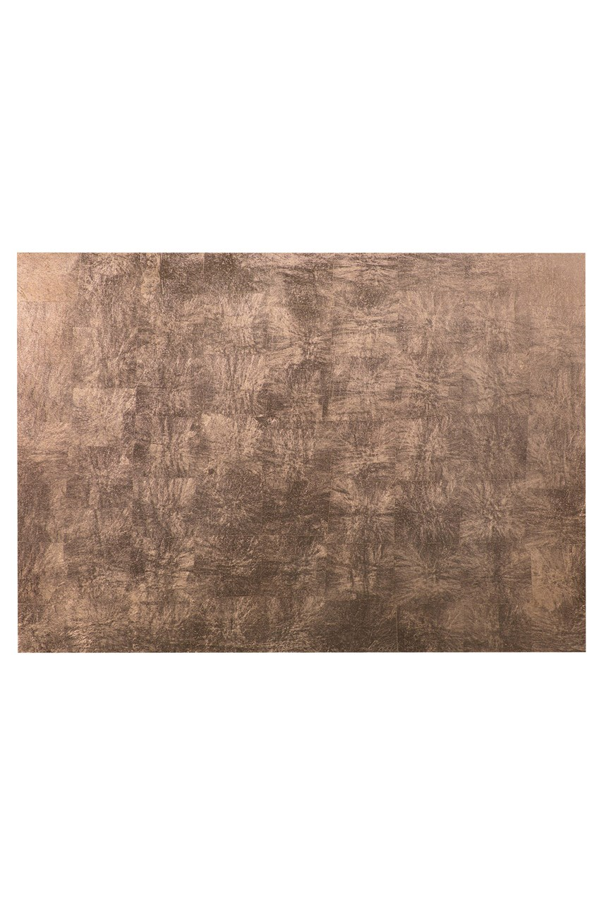 Silver Leaf Serving Mat/Grand Placemat - Taupe