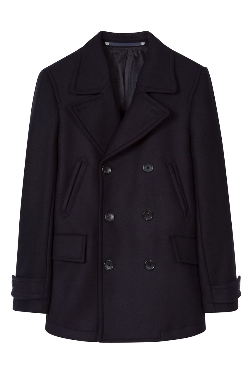 Reefer Wool Cashmere Pea Coat