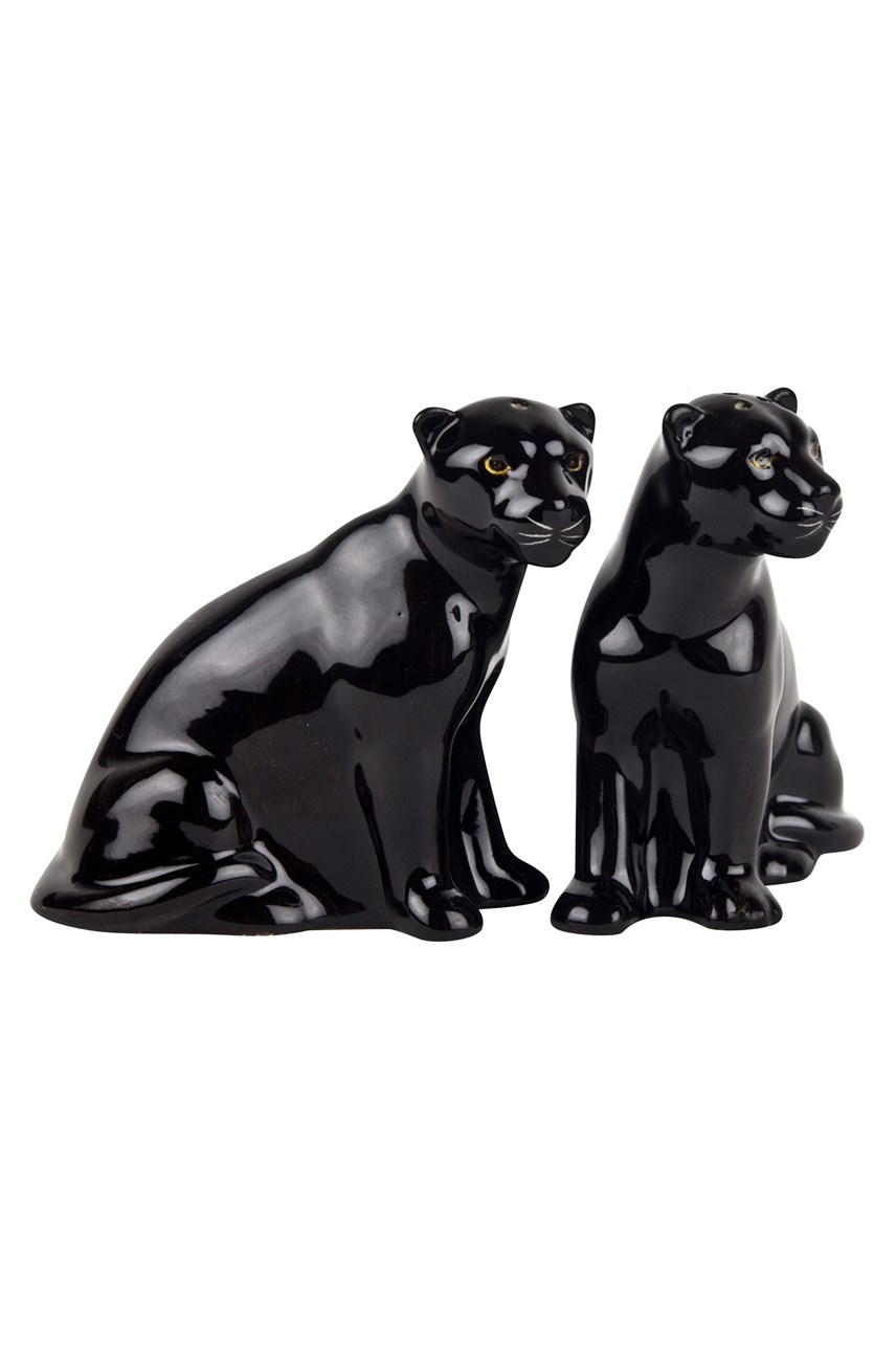 Panther Salt & Pepper Shakers
