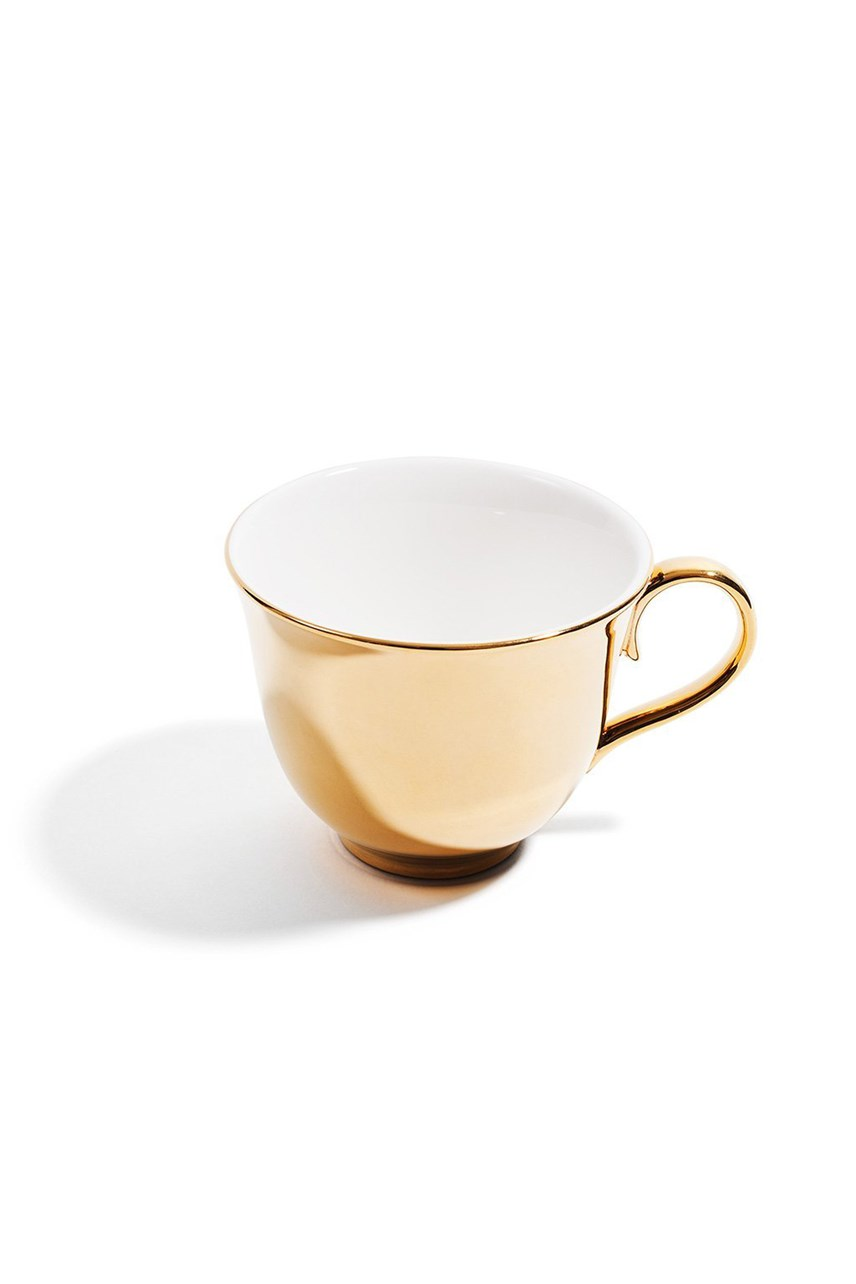 Superstripe Teacup - Gold