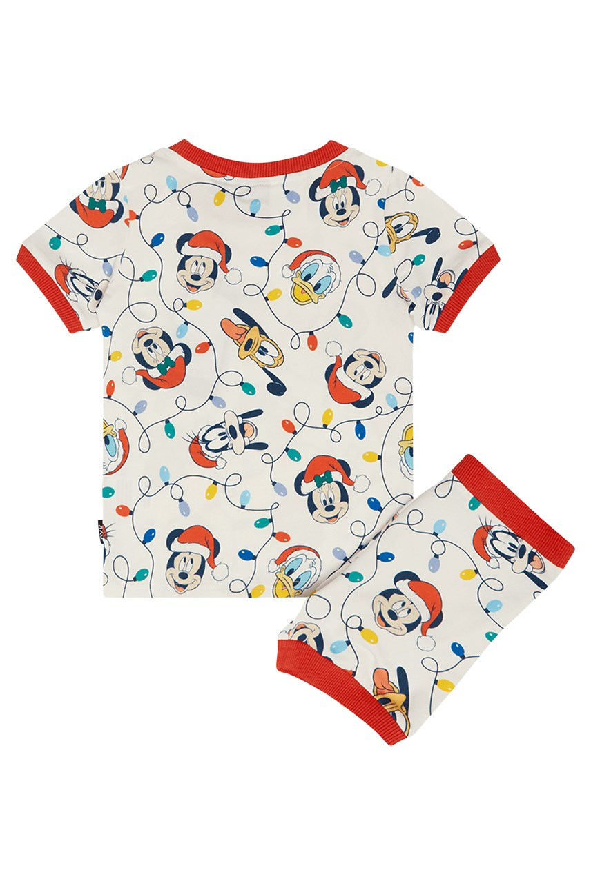 Mickey Up In Lights Pyjama Set