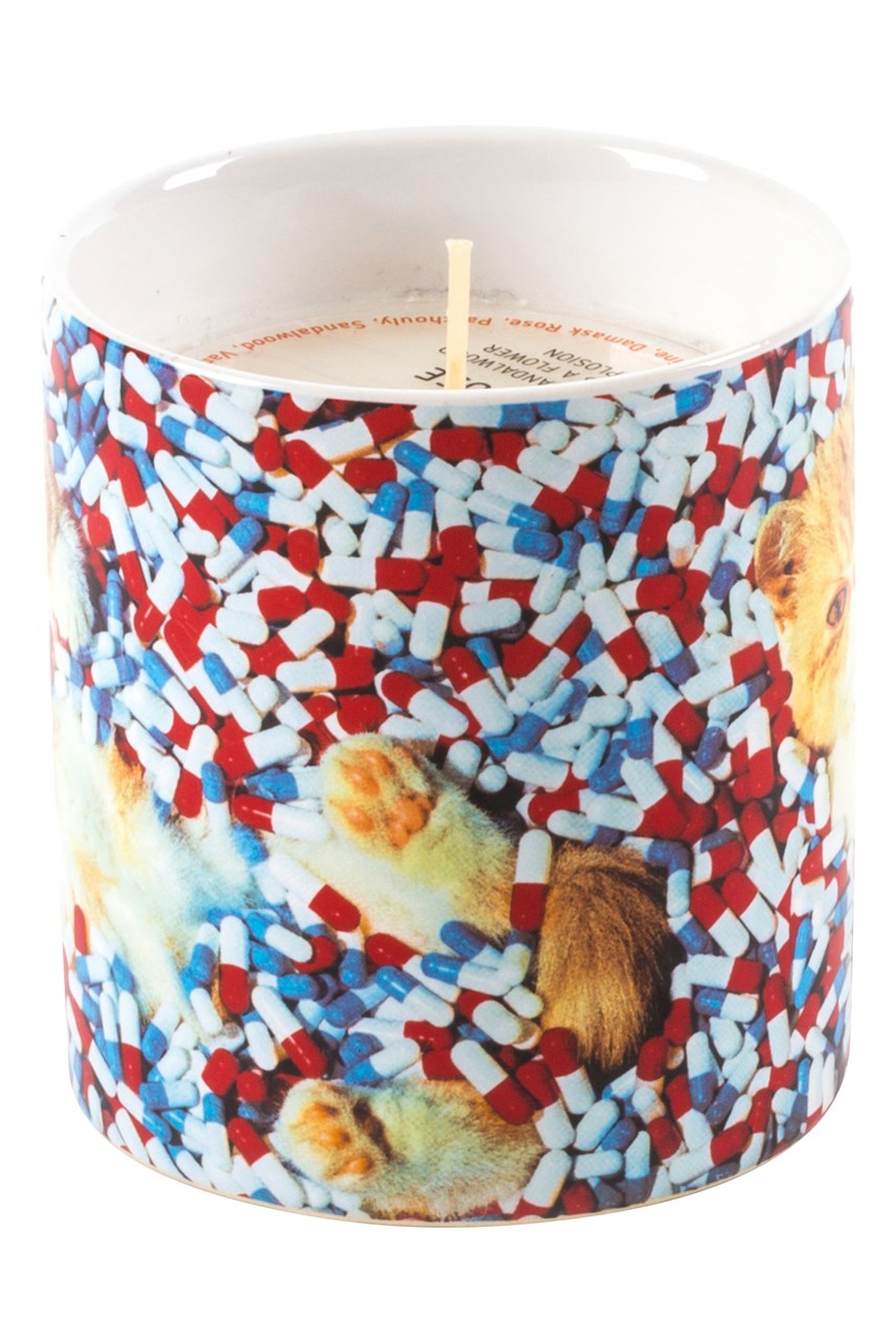 Pills Porcelain Jar Candle
