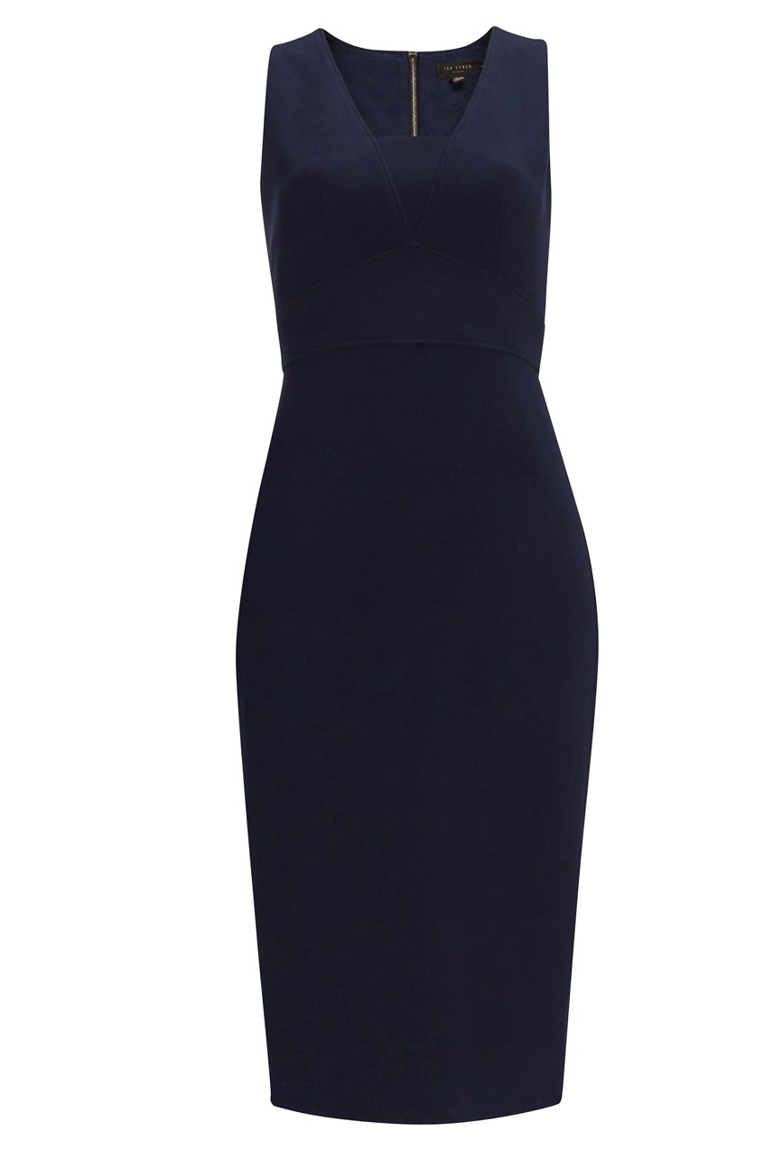 Astriid Seam Detail Pencil Dress