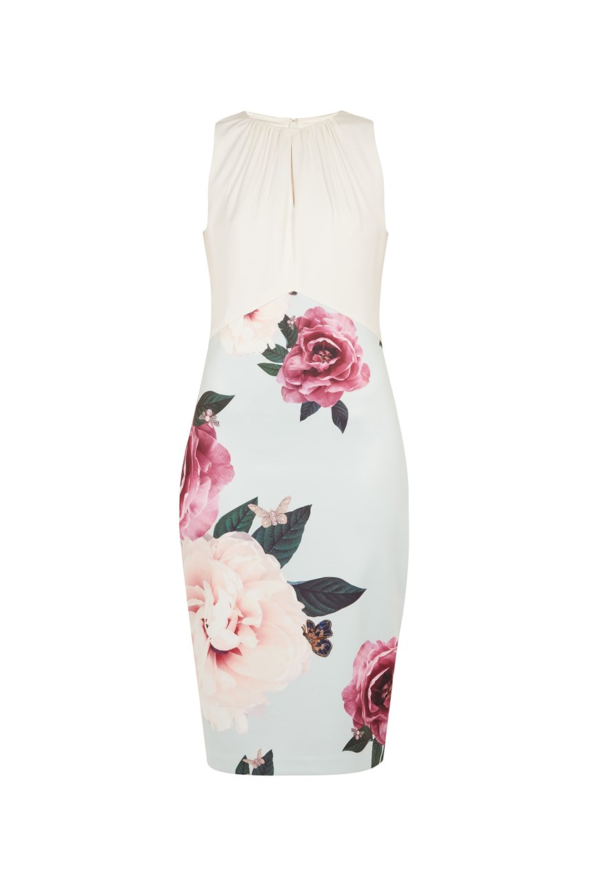 Annile Floral Bodycon Dress