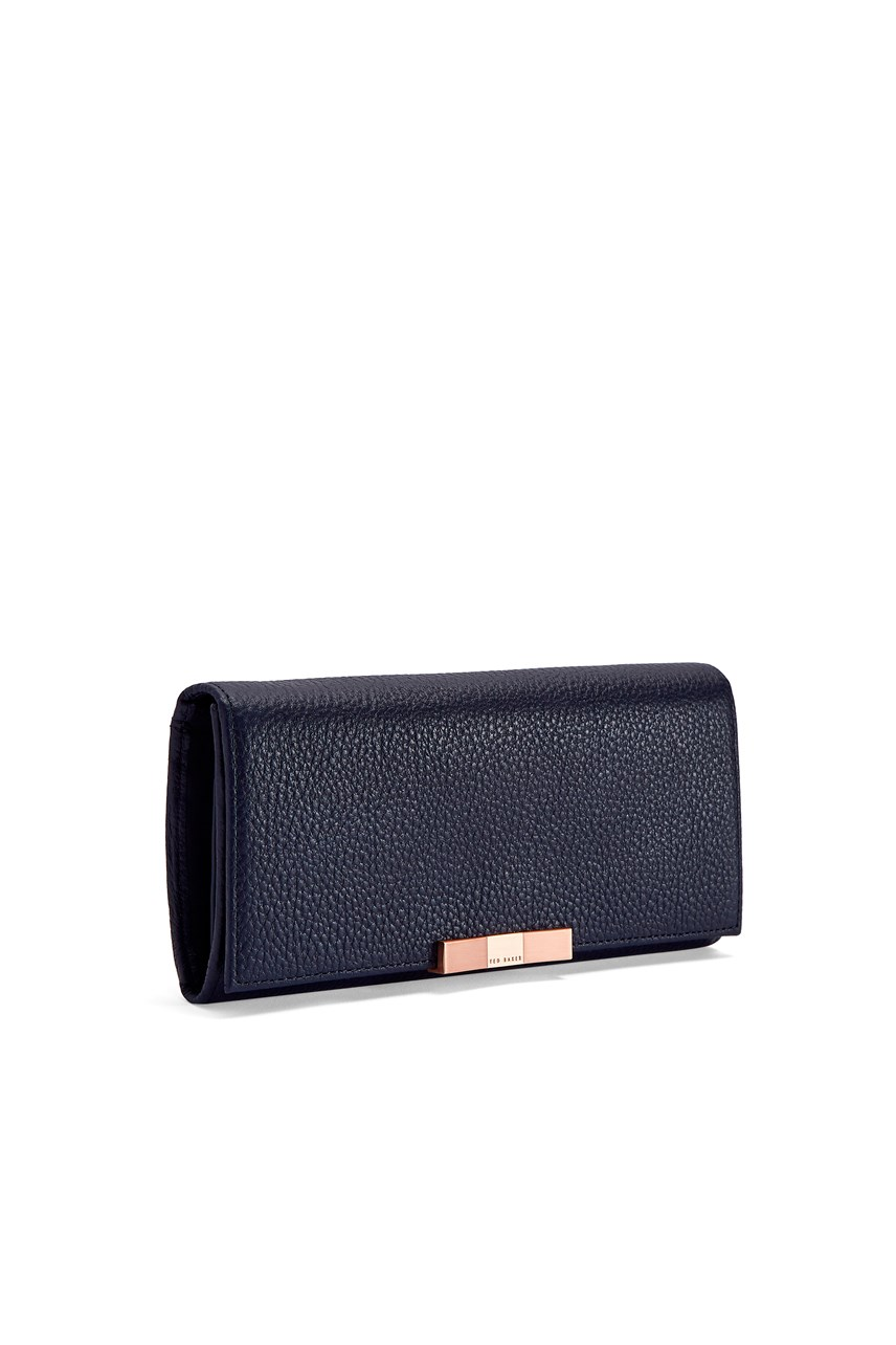 Bevv Faceted Bow Flap Matinee Wallet