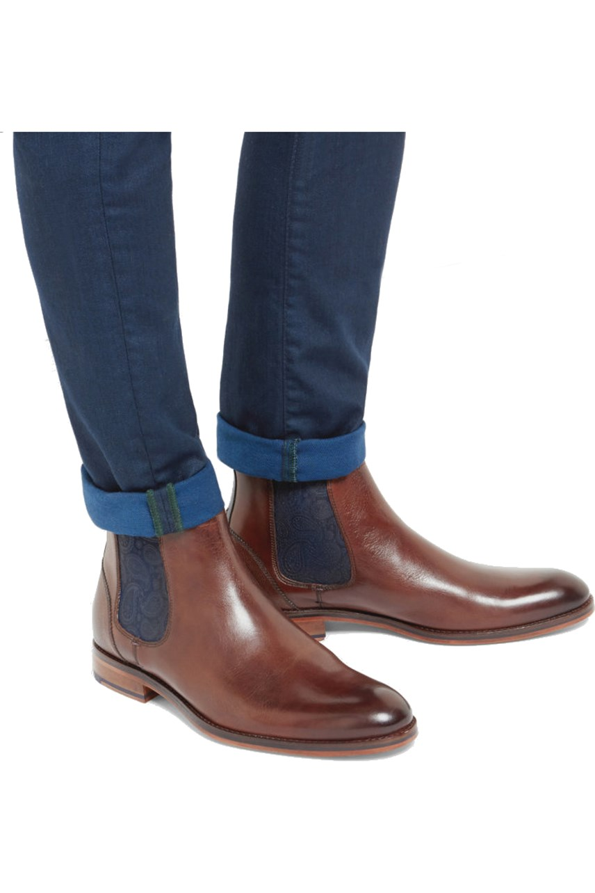 Camron Leather Chelsea Boot