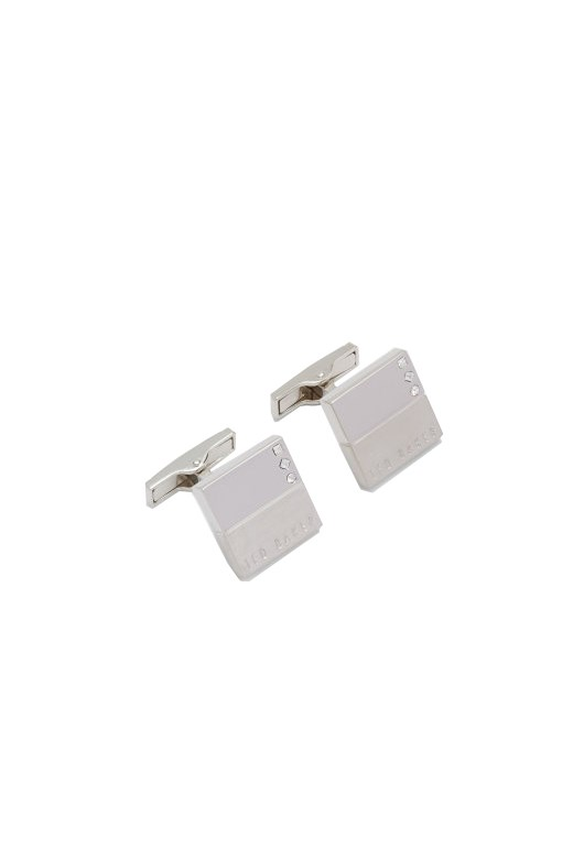 Cade Crystal Cufflinks