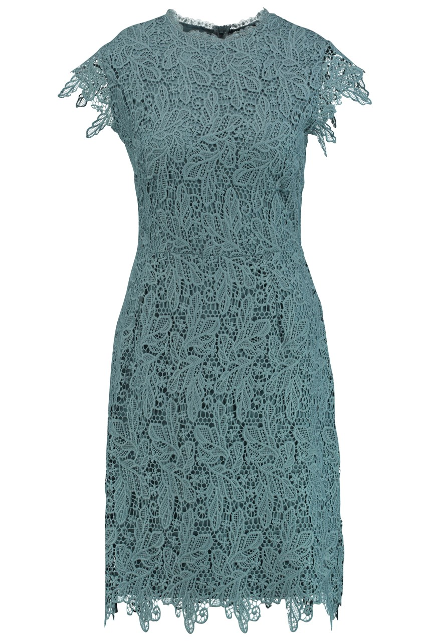 Square Garden Lace Dress