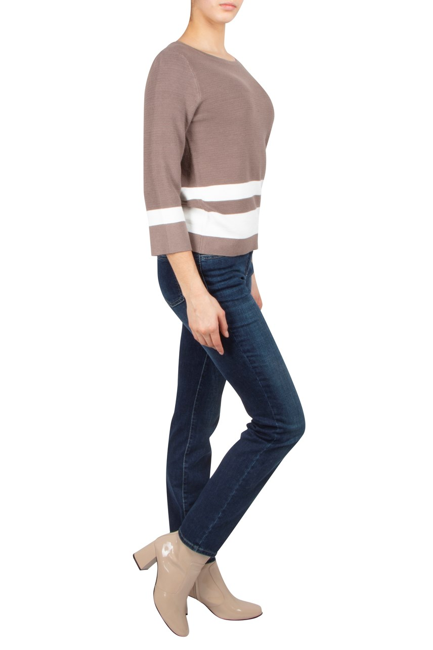 Double Stripe Pullover