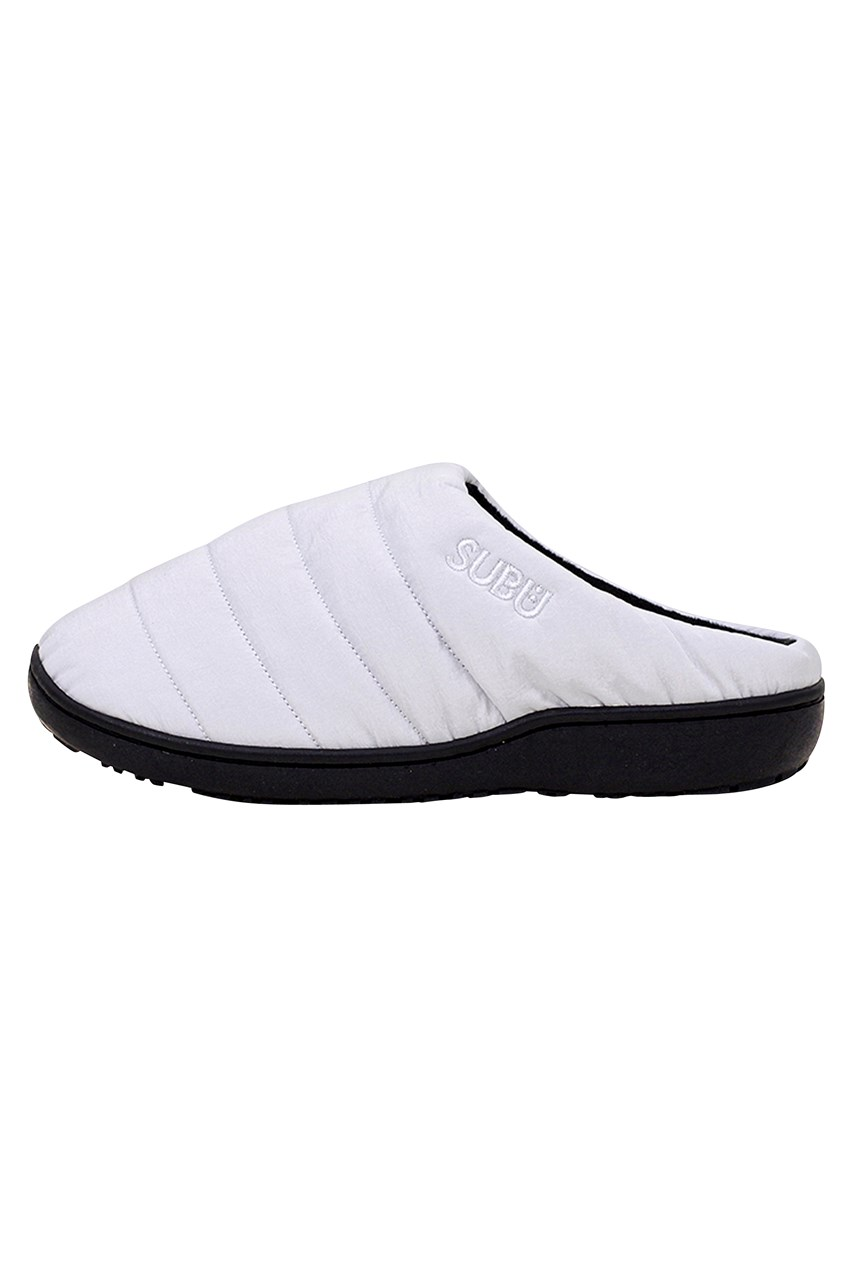 Burble White Slipper