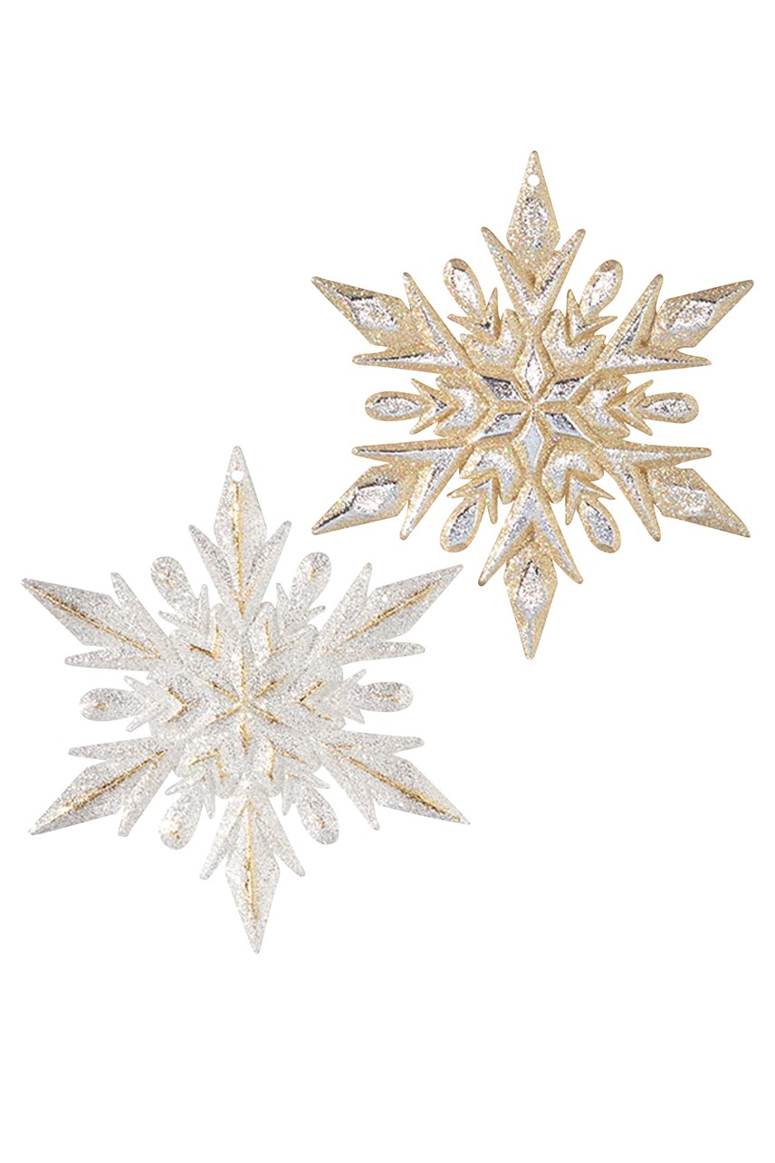 Snowflake Ornament Assorted