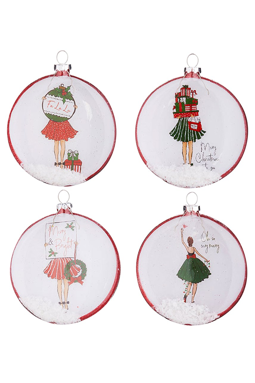 Christmas Girl Disc Assorted
