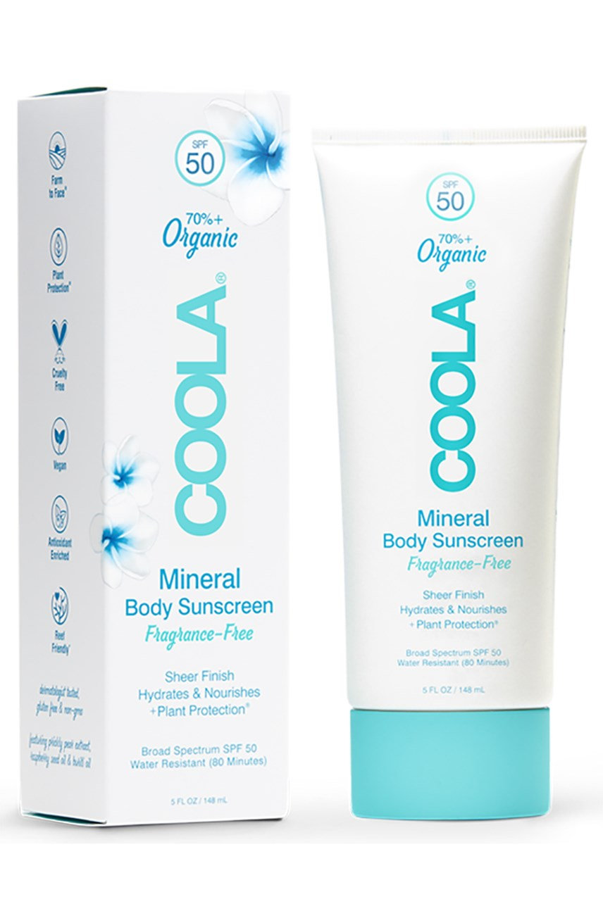 Mineral Body Sunscreen Lotion SPF 50 - Fragrance-Free