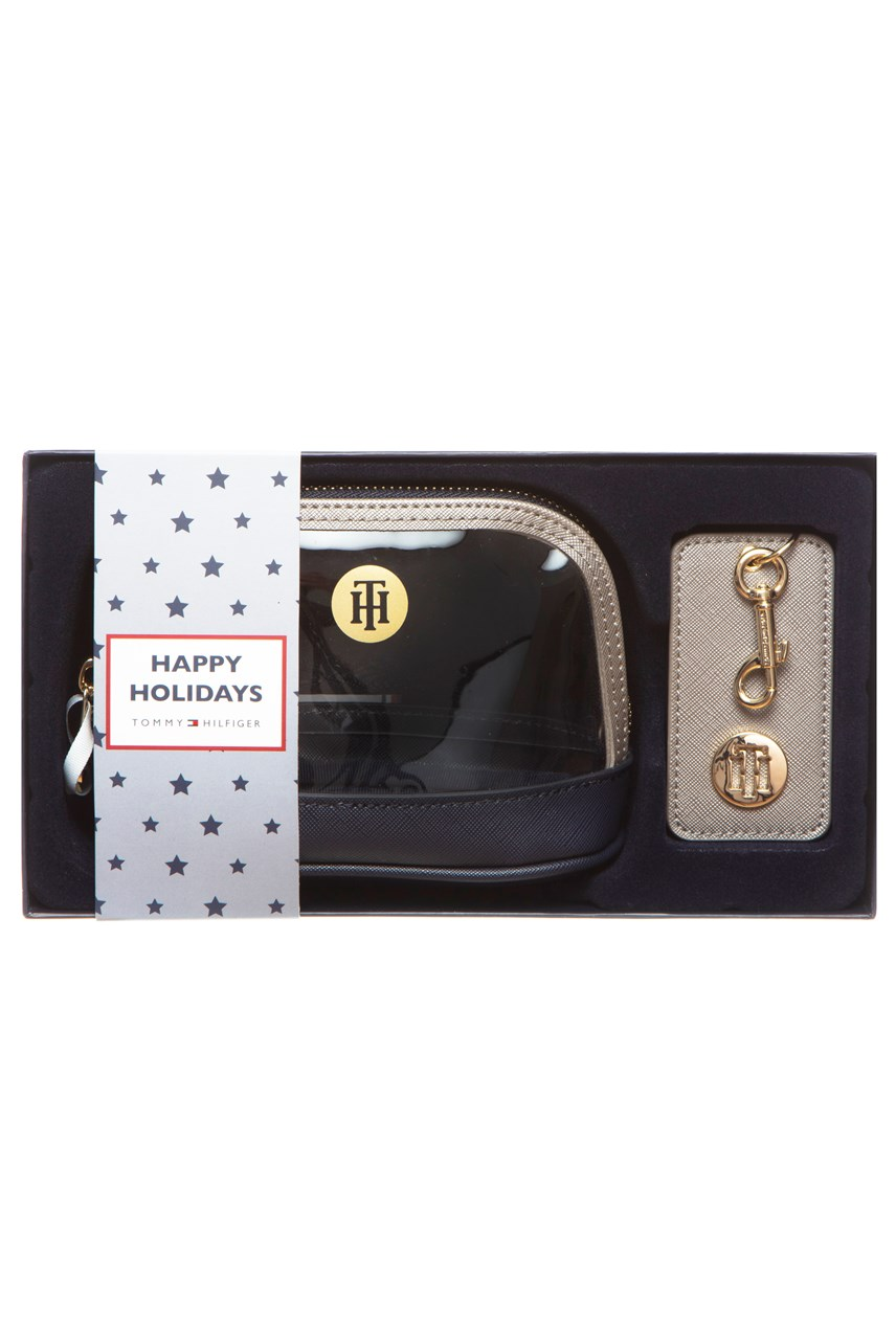 Makeup Bag with Keyring Gift Box