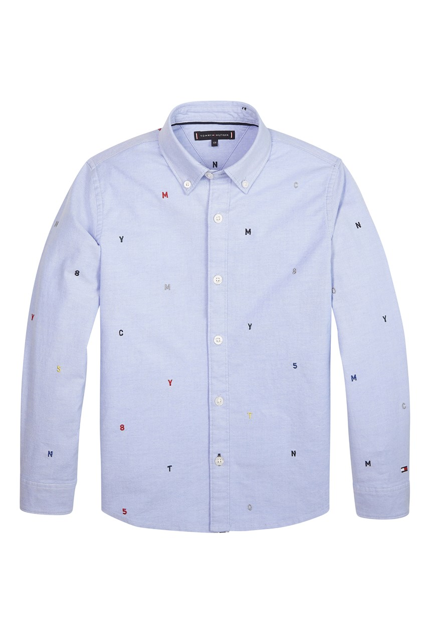 Embroidered Oxford Shirt