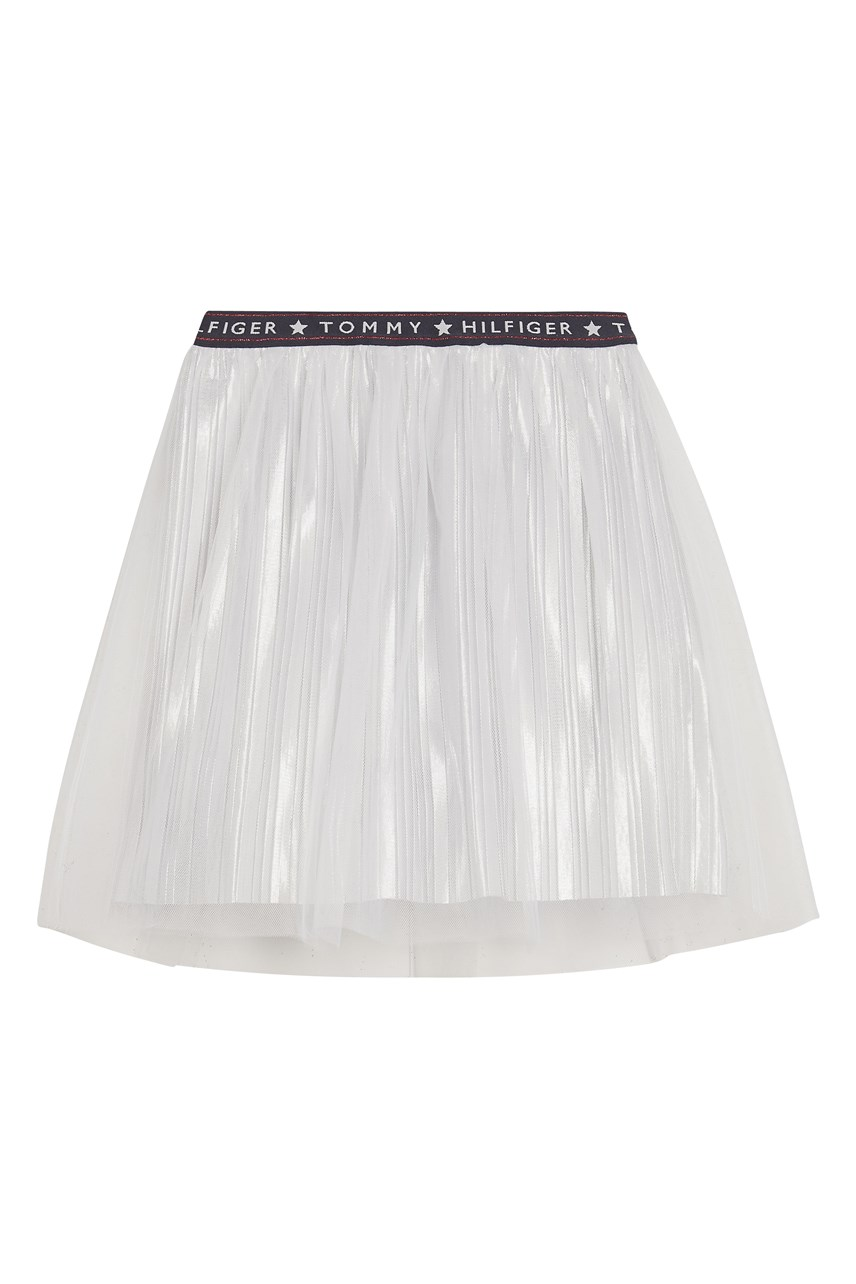 Tulle Metallic Skirt