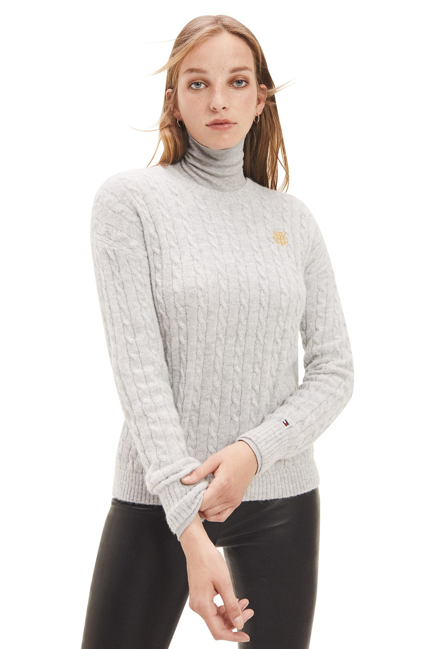Essential Cable Knit Alpaca Jumper