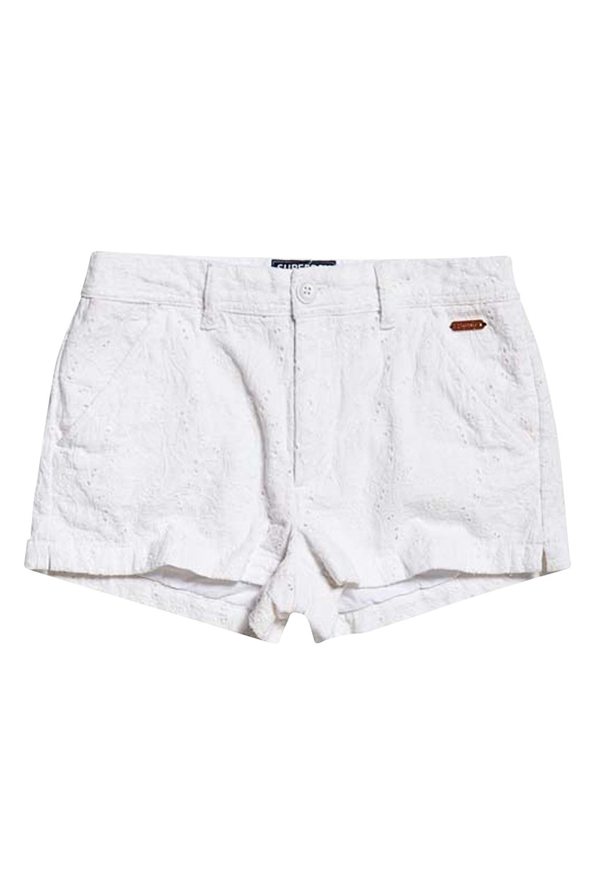 Women's Broderie Chino Short