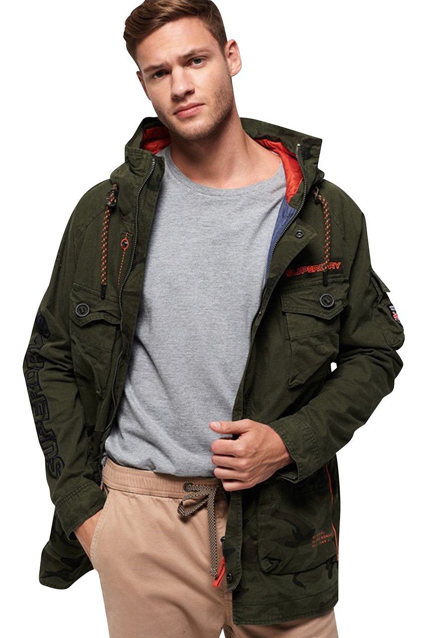 Men's Mixed Rookie Parka