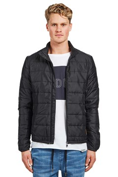 Alpine Puffer Jacket Black 1