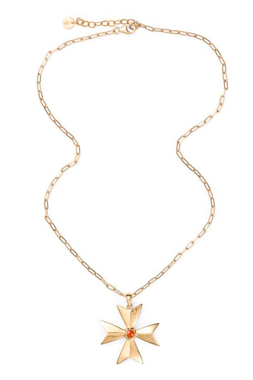 Amalfi Collection - Maltese Cross Necklace