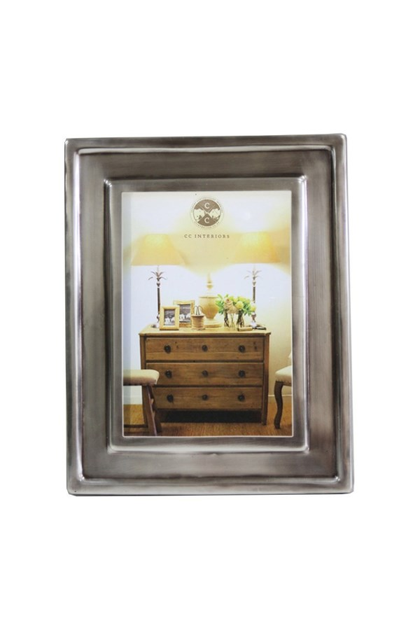 Antique Silver Style Frame - 5x7in