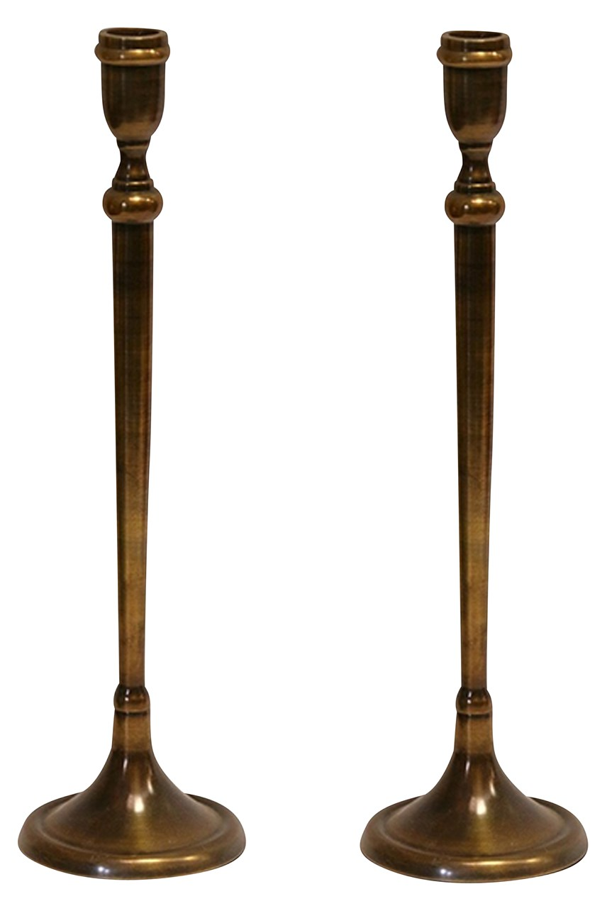 Tapered Candlestick - Set Of 2