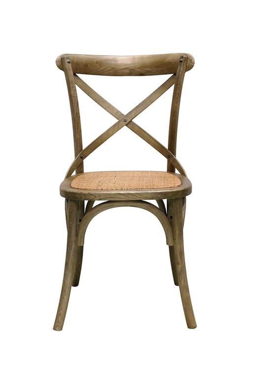 Vienna Elm Cross Back Chair