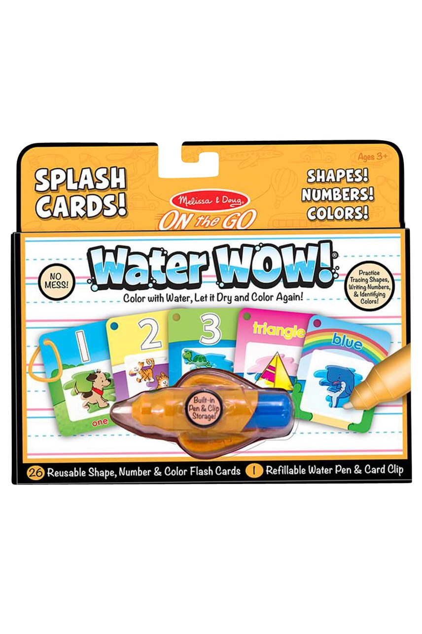 Water Wow!  Number, Colour Shape Cards