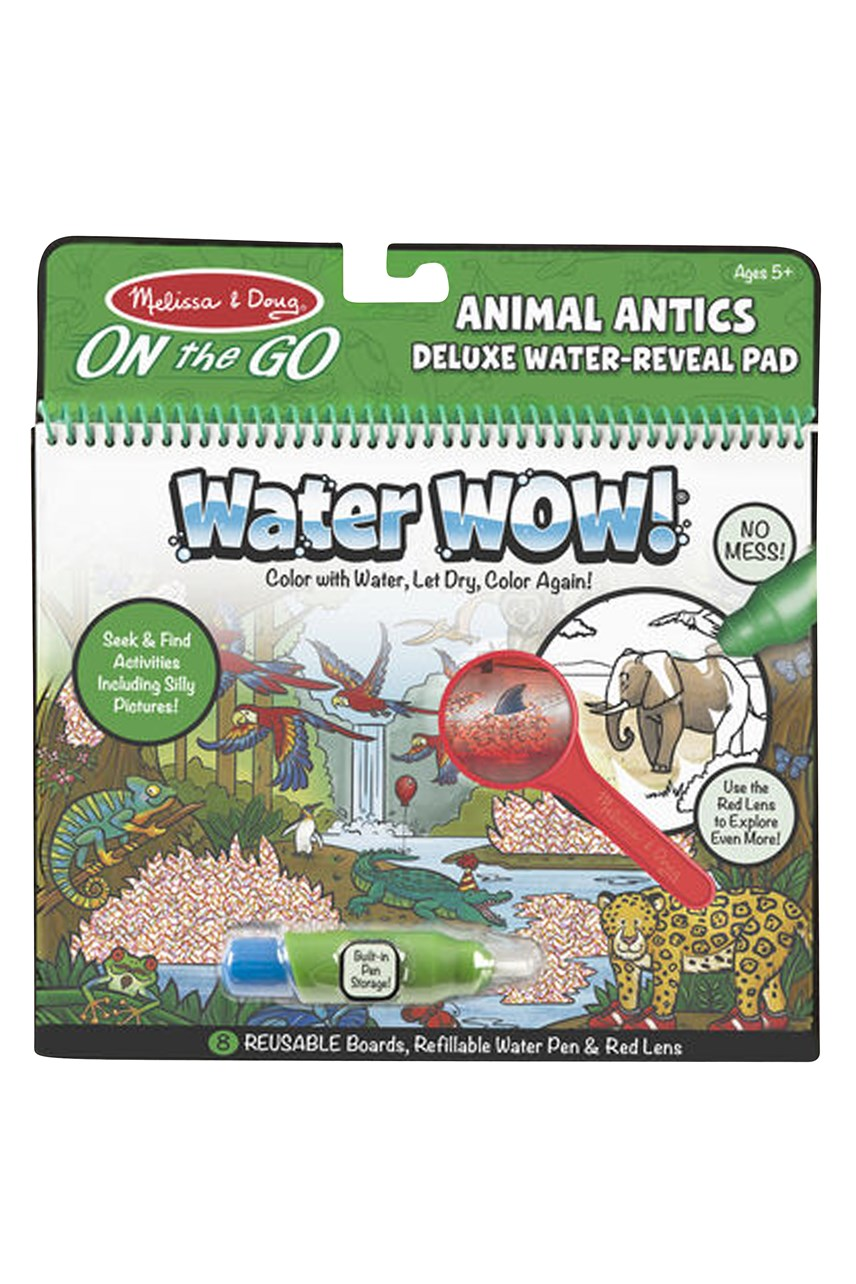 Water Wow! Animal Antics Deluxe Water-Reveal Pad