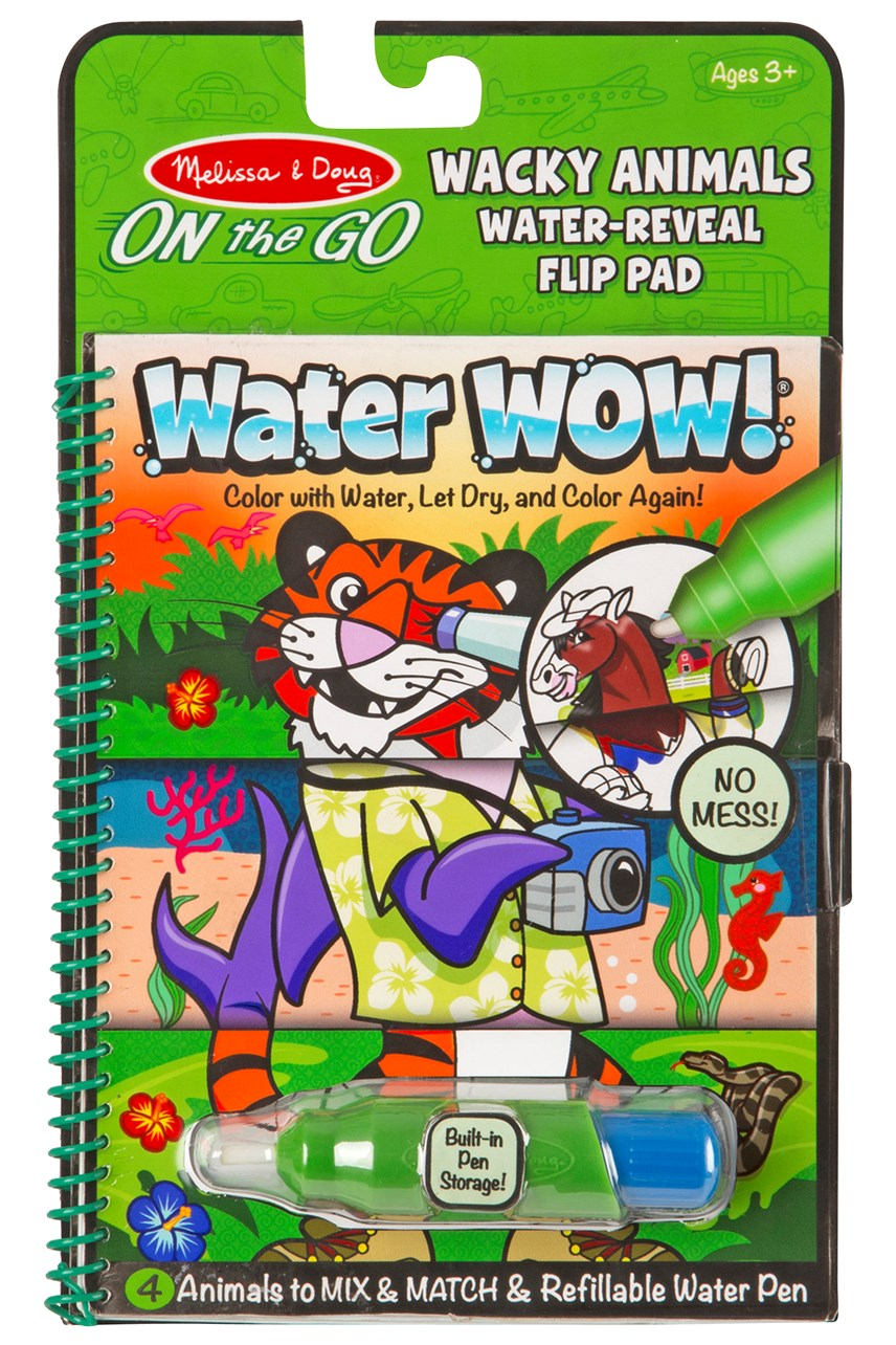 Water Wow! Wacky Animals Water Reveal Pad
