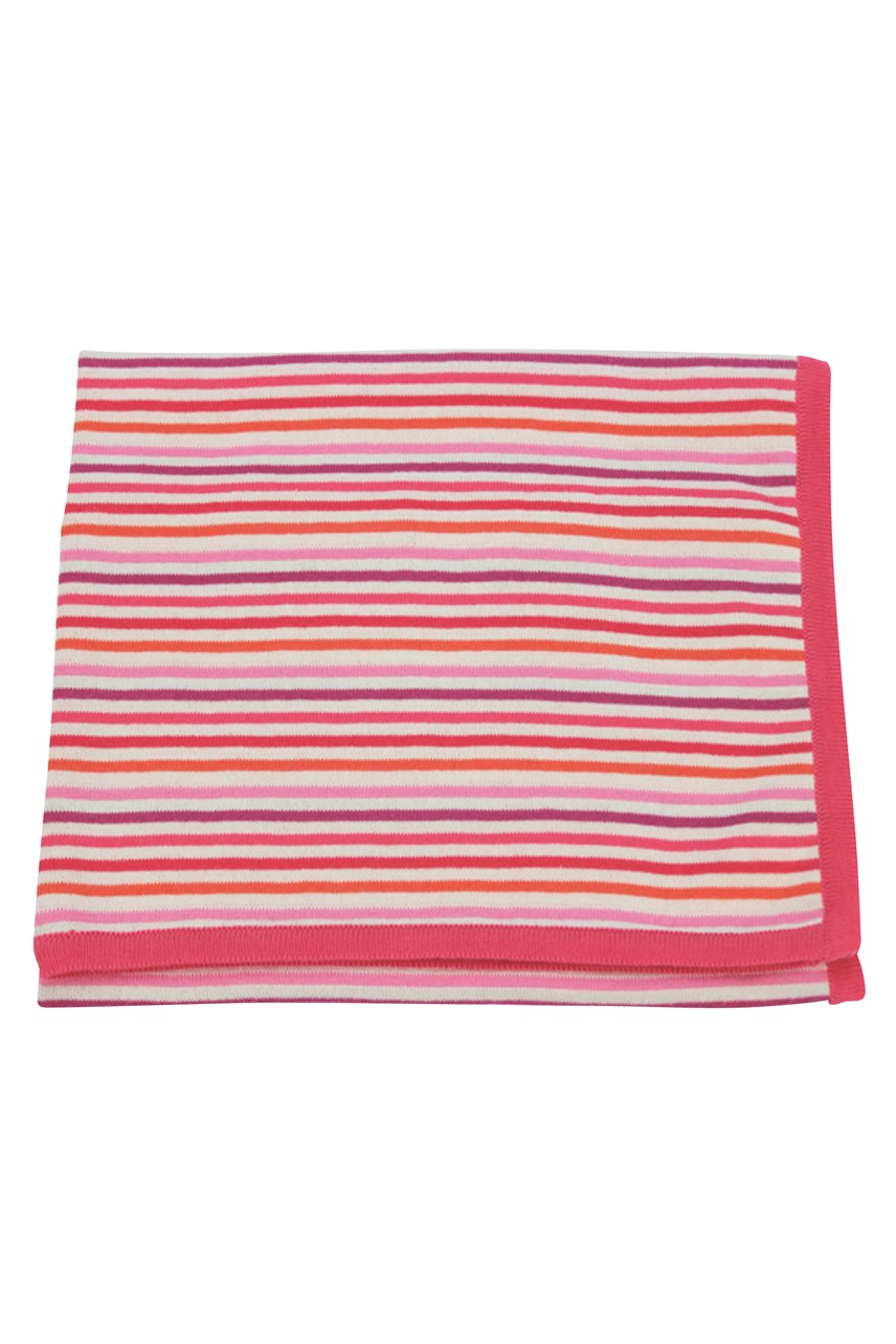Cotton Knitted Stroller Blanket